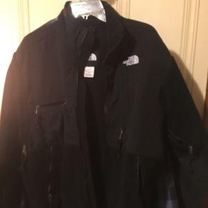 North Face Black Fleece Men Size S